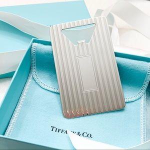 Tiffany & Co. Dining - Tiffany & Co. Engine Turned Bottle Opener